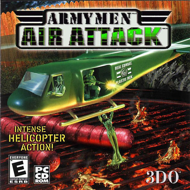 Copy of Army Men Air Attack (1999 - Ps1)