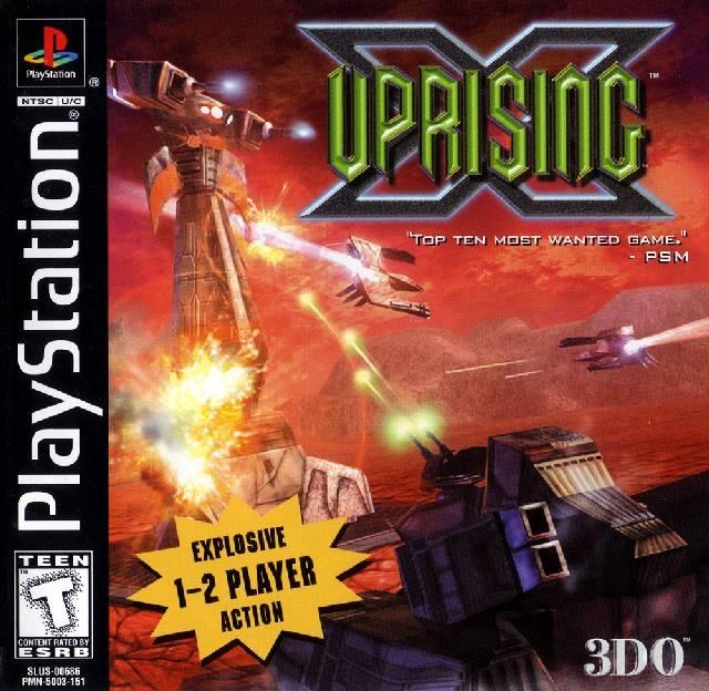Copy of Uprising X - Cyclone Studios (1998 - PS1)