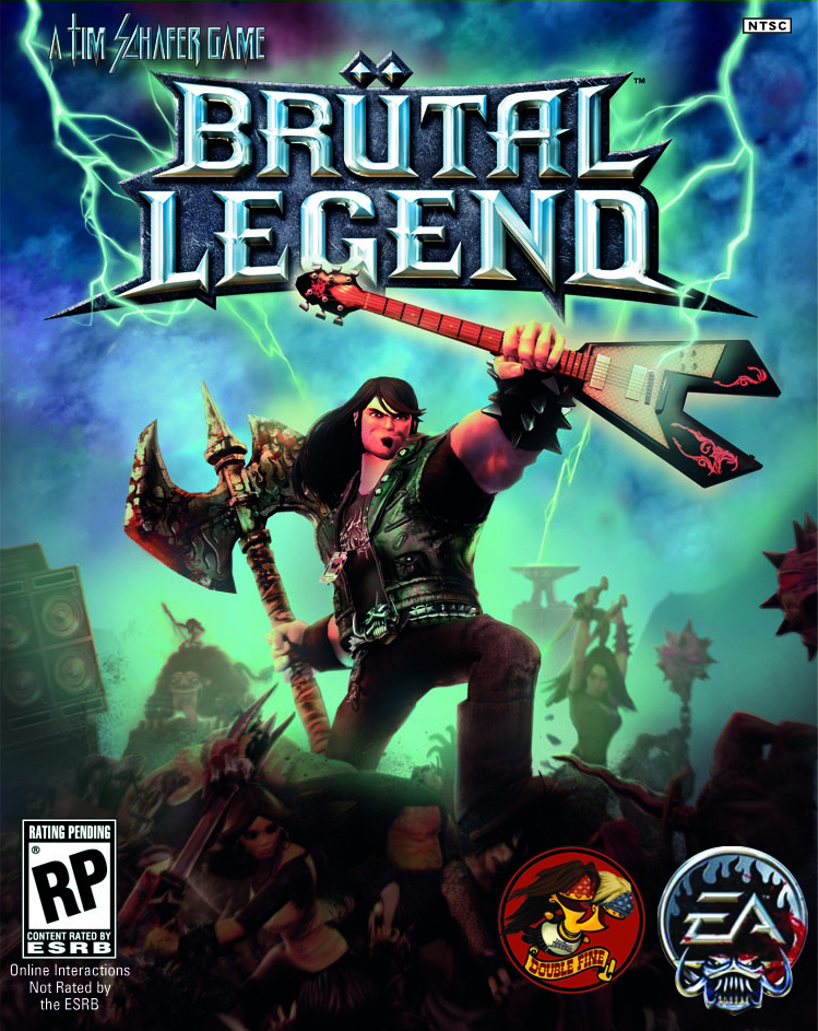 Copy of Brutal Legend (2009 - PS3, X360)