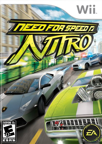 Copy of Need For Speed Nitro (2009 - Wii)