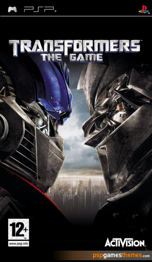 Copy of Transformers the Movie (2007 - Psp)
