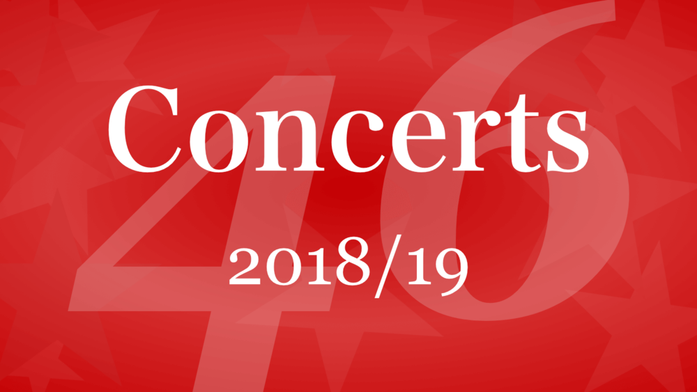 Winnipeg Singers banner for Concerts 2018-19