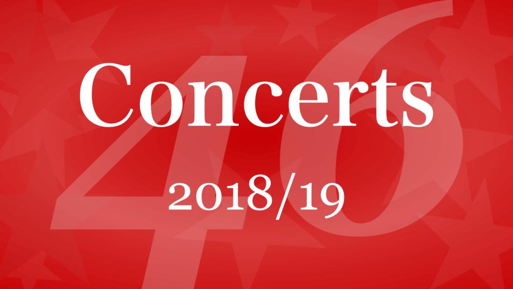 Winnipeg Singers banner for Concerts 2018-19