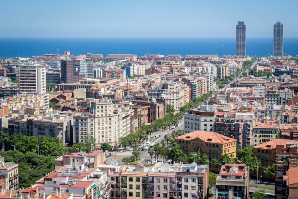 Barcelona, Spain - a cosmopolitan city known for its art and architecture.