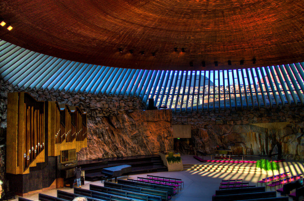 Helsinki's Temppeliaukio (Rock) Church