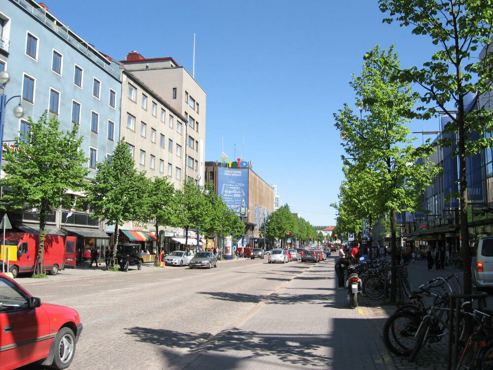 City Centre of Lahti, Finland