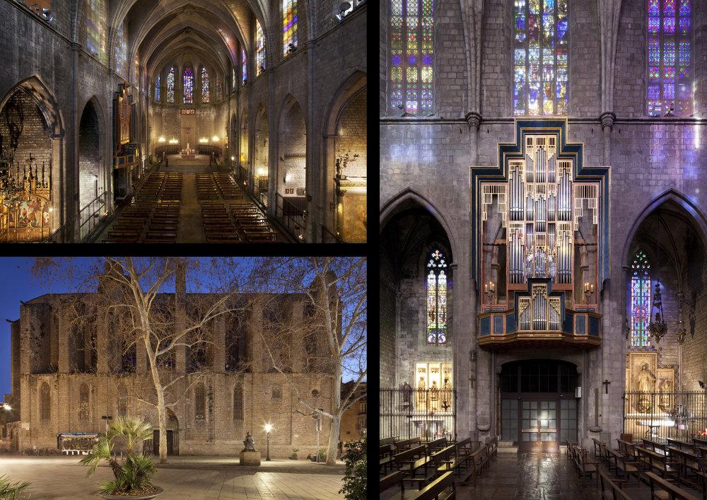 Basílica de Santa Maria del Pi, Barcelona, Spain