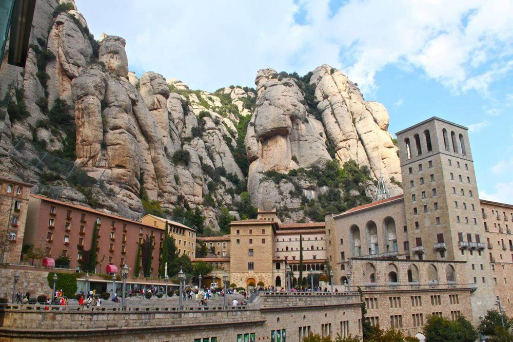 Montserrat is a gorgeious mountain range with a mountain top monastery 45km from Barcelona. A refreshing place to relax, hike and breathe.