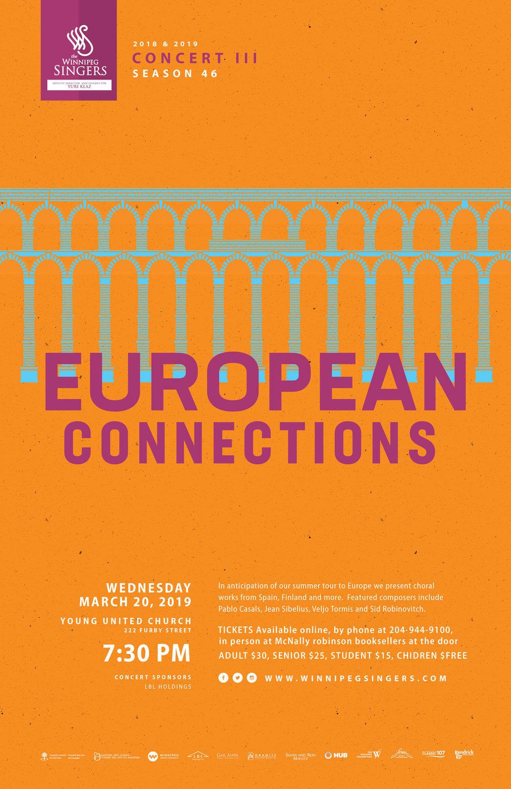 Winnipeg Singers - European Connections Concert