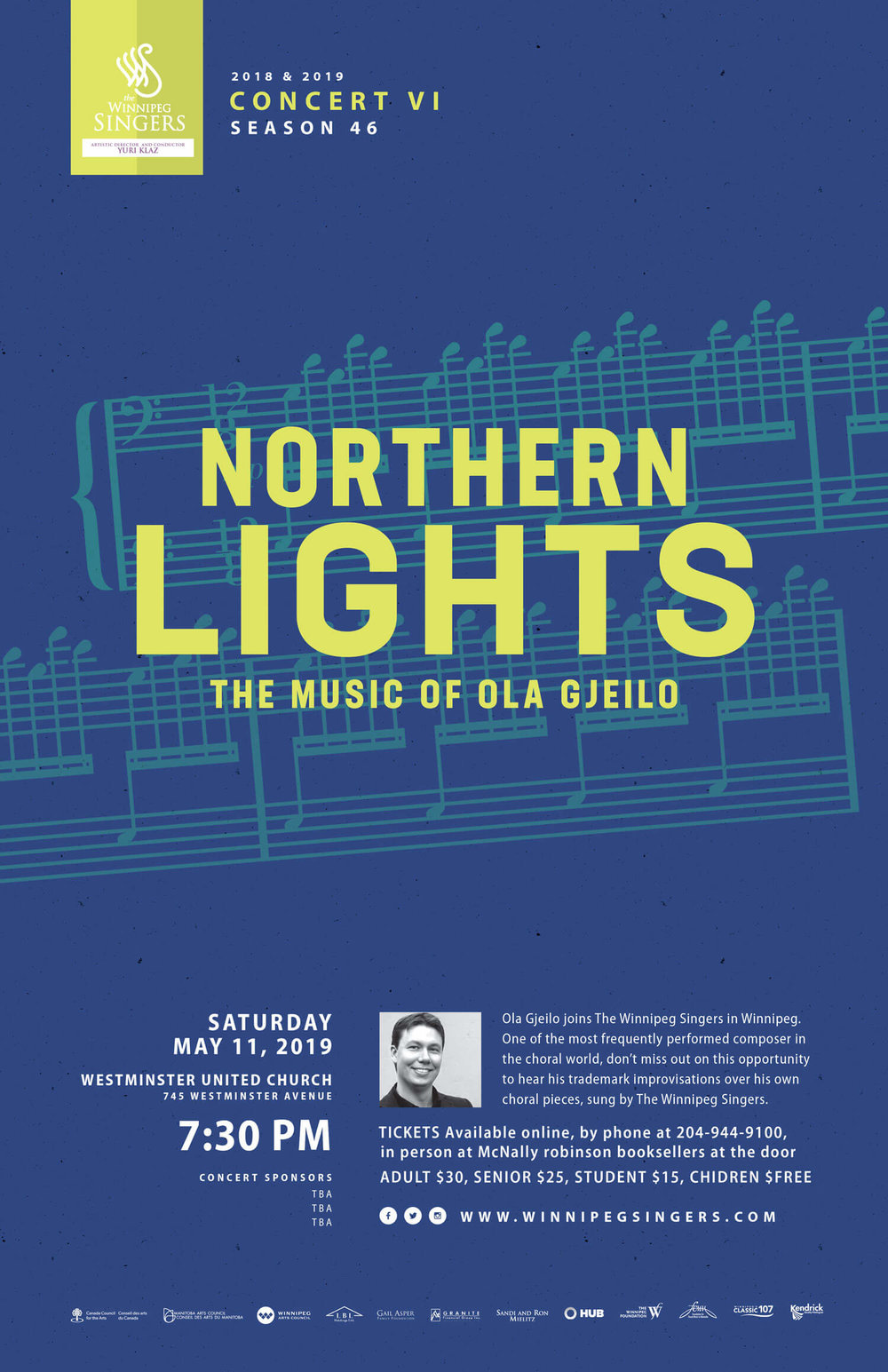 Winnipeg Singers - Northern Lights Concert