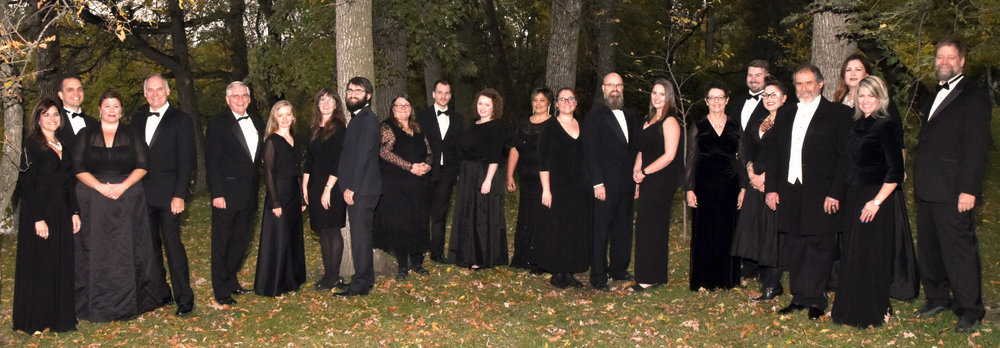 The Winnipeg Singers 2018  Photo by Damian Bilinsky