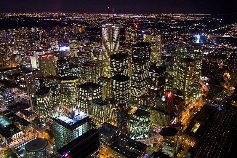 Toronto at Night