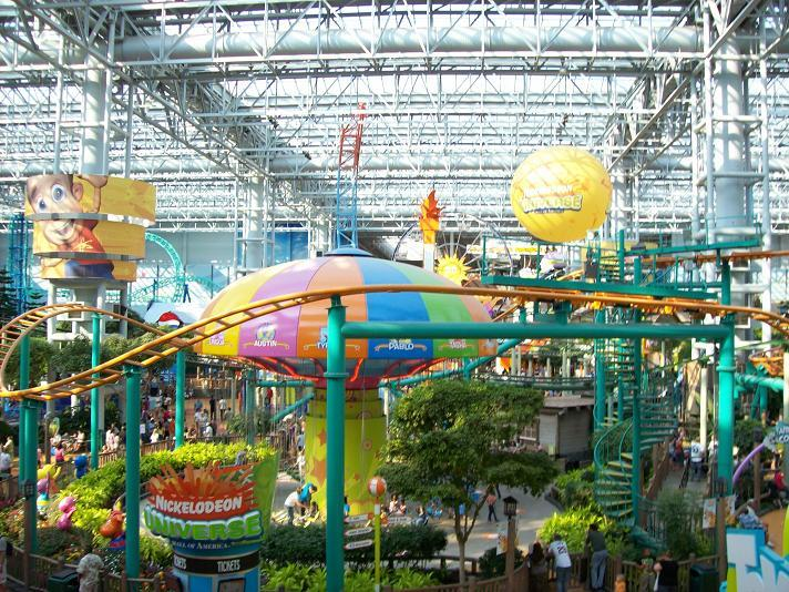 Interior of Mall of America