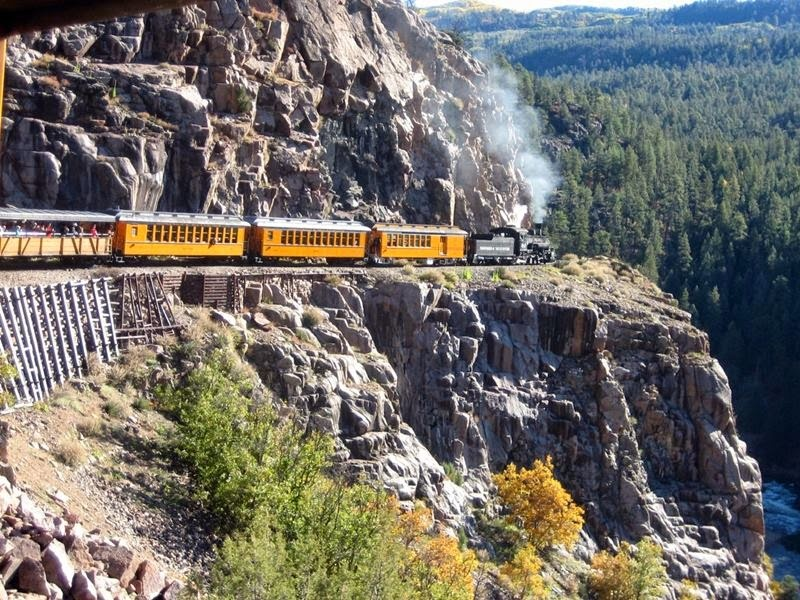 Photography: silverton narrow gauge railroad