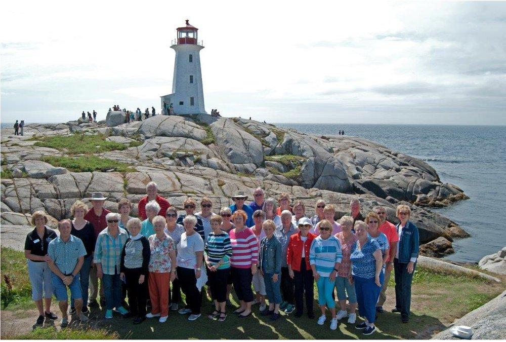 Villa Rica Georgia- Custom Group Tour, Nova Scotia Fall, 2016