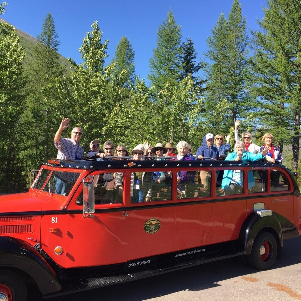 Glacier National Park, GNT Group Tour