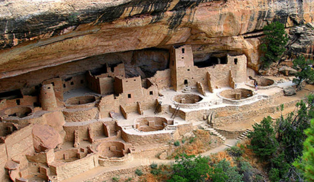 ANASAZI CLIFF DWELLINGS, MVNP