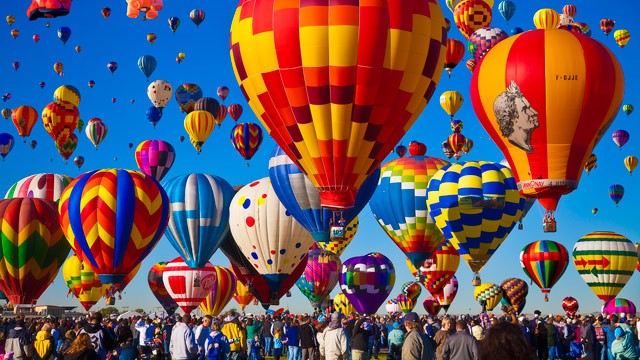 Albuquerque, New Mexico Balloon Festival