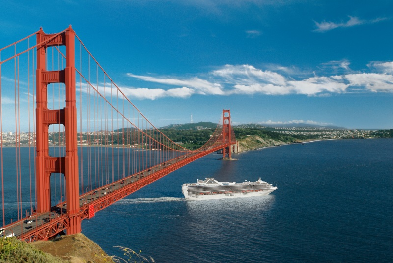 Princess Cruises, San Francisco