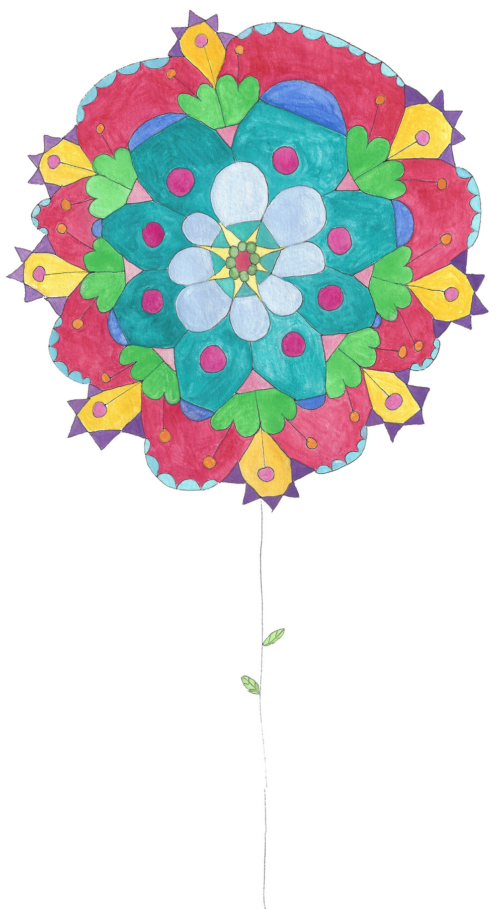 Mandala Flower (2017_0209)