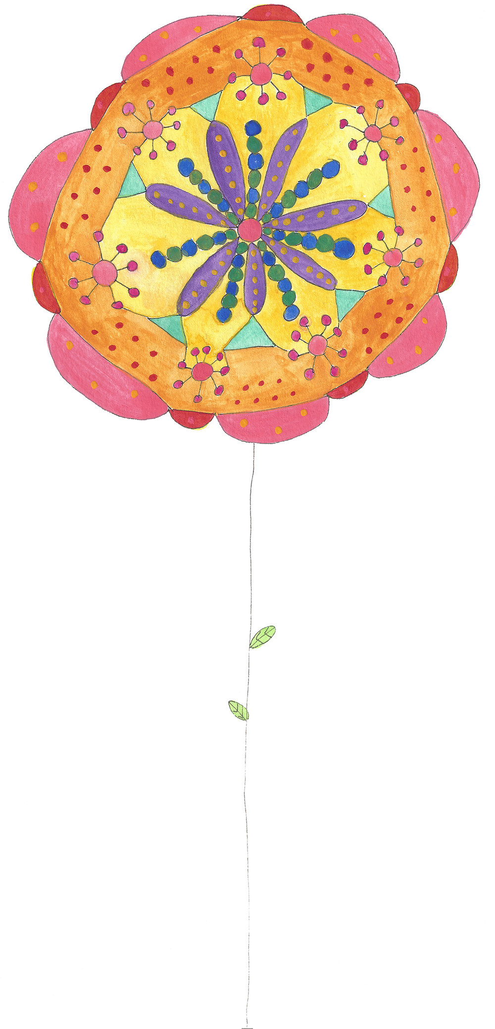 Mandala Flower (2017_0207)