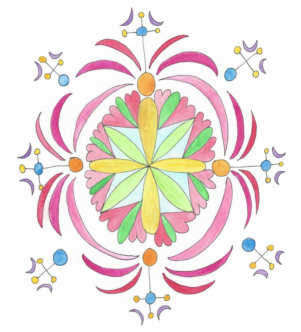 Mandala Flower (2018_03)