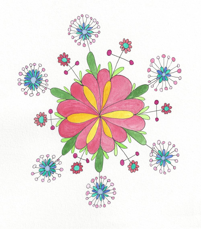 Mandala Flower (2016_0324)