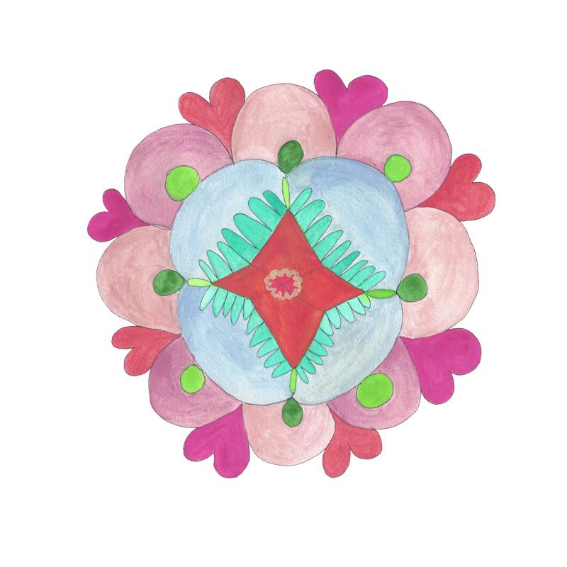 Mandala Flower (2016_0118)