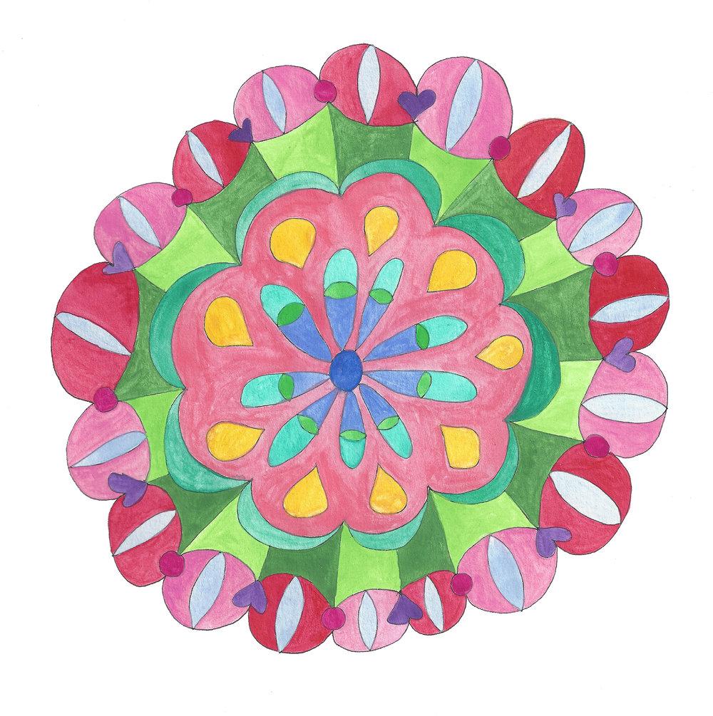 Mandala Flower (2017_0316)