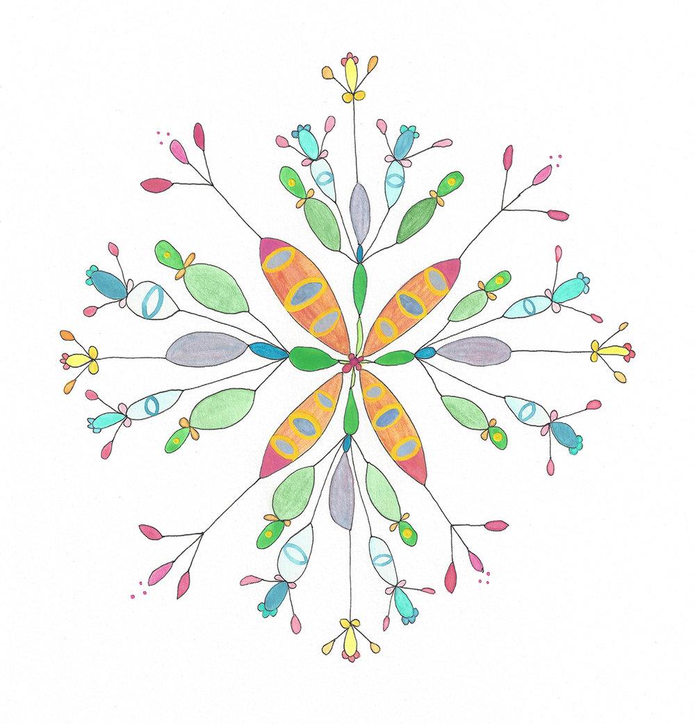 Mandala Flower (2017_0407)