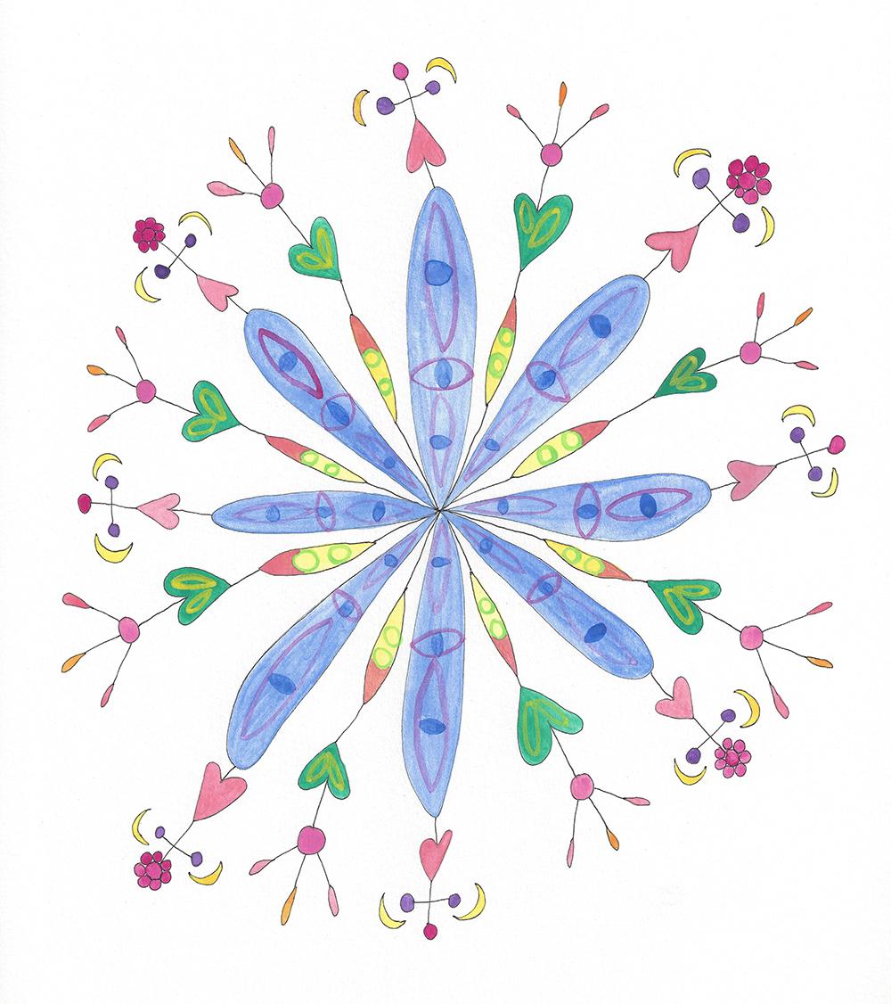 Mandala Flower (2017_0427)