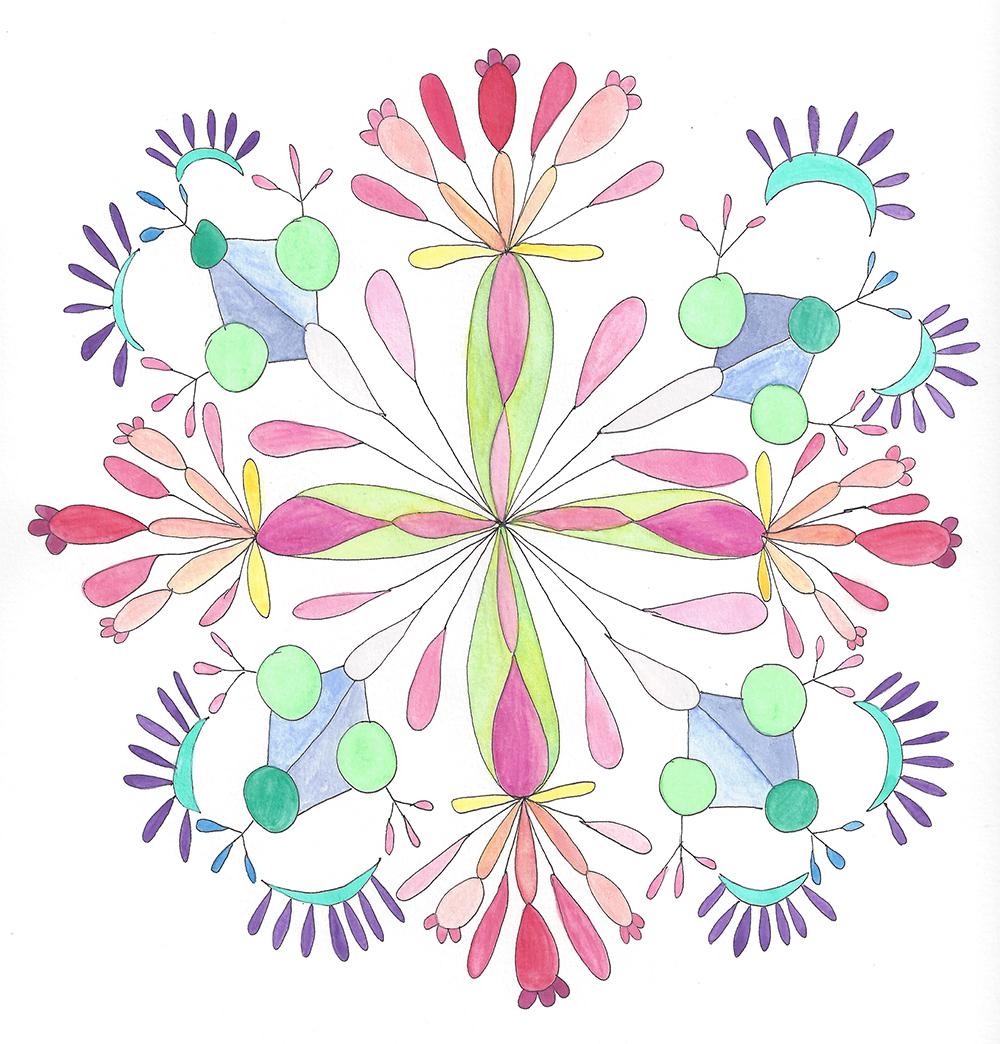 Mandala Flower (2018_0309)