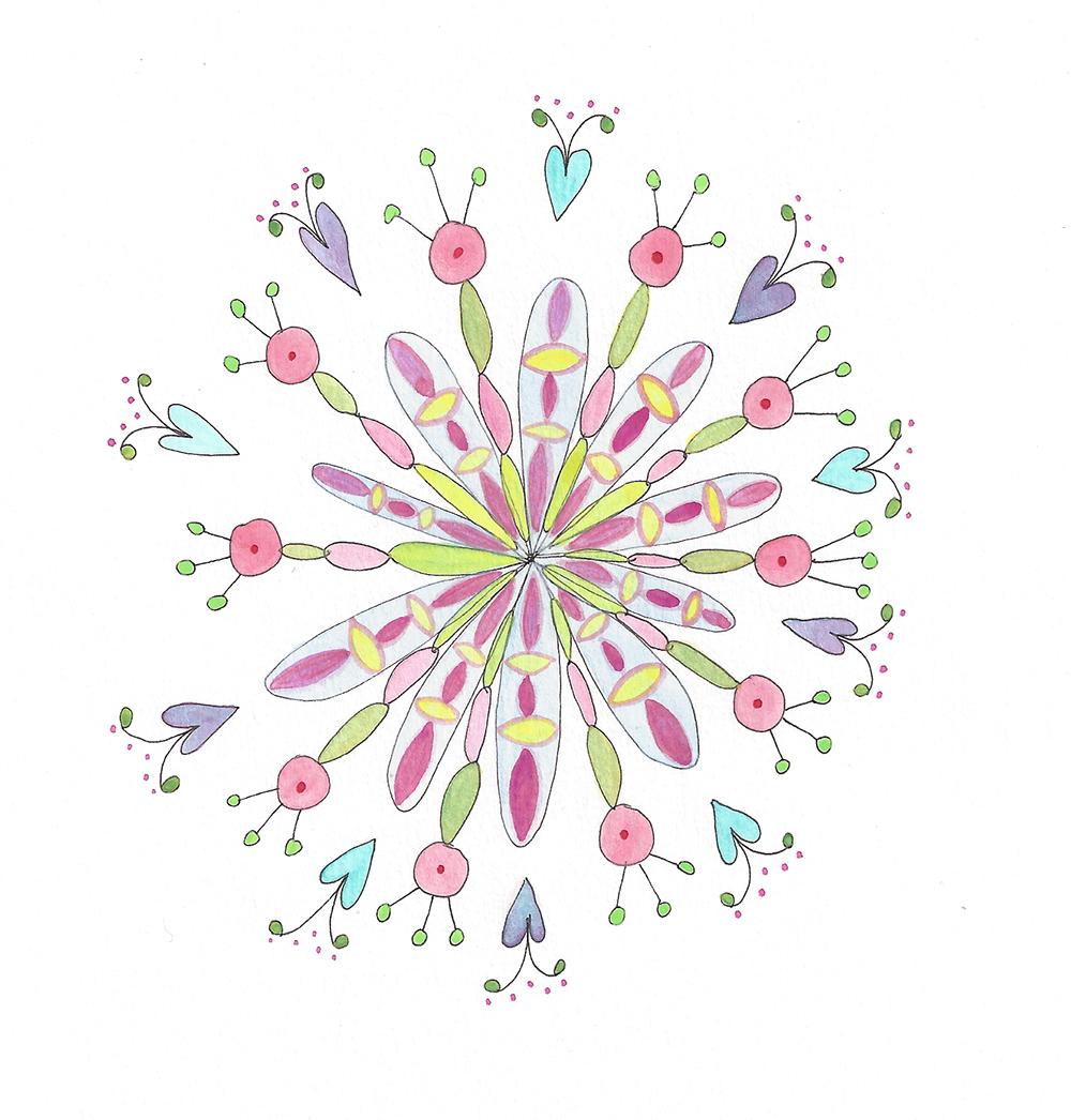 Mandala Flower (2018_0121)