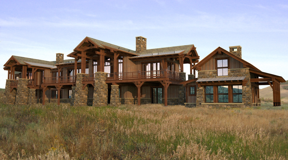 Colorado Mountain Ranch Sustainable Architect   09