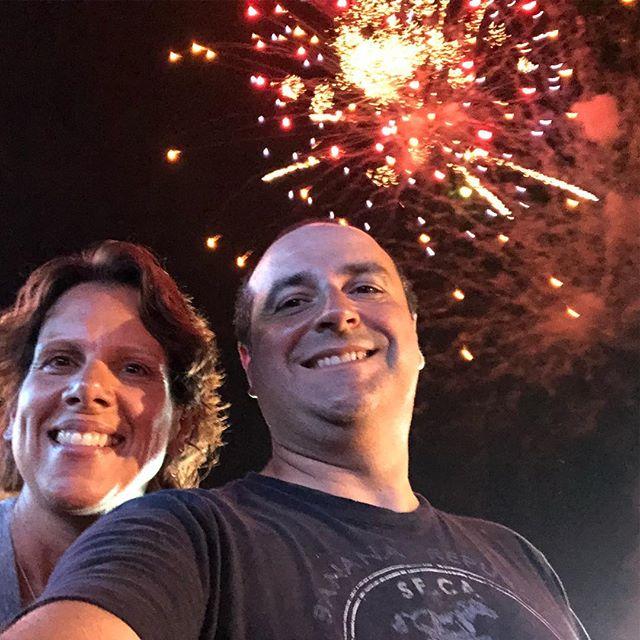 Fireworks 💥 with @ilovepbnj