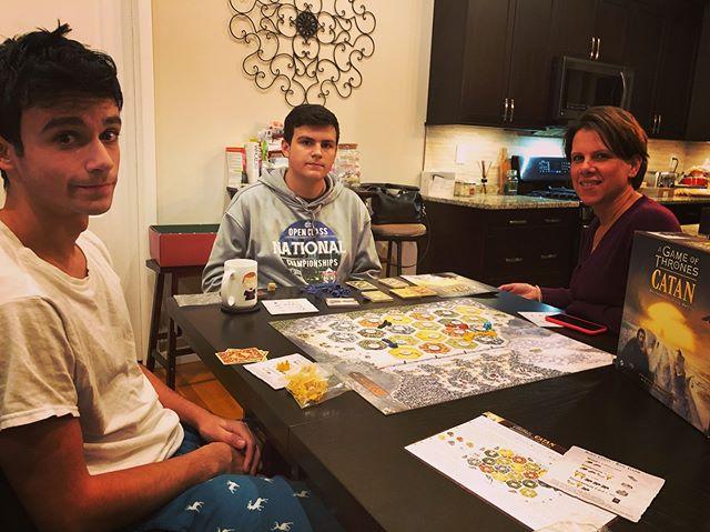 Family Game Night - Game of Thones Catan. #catan #got