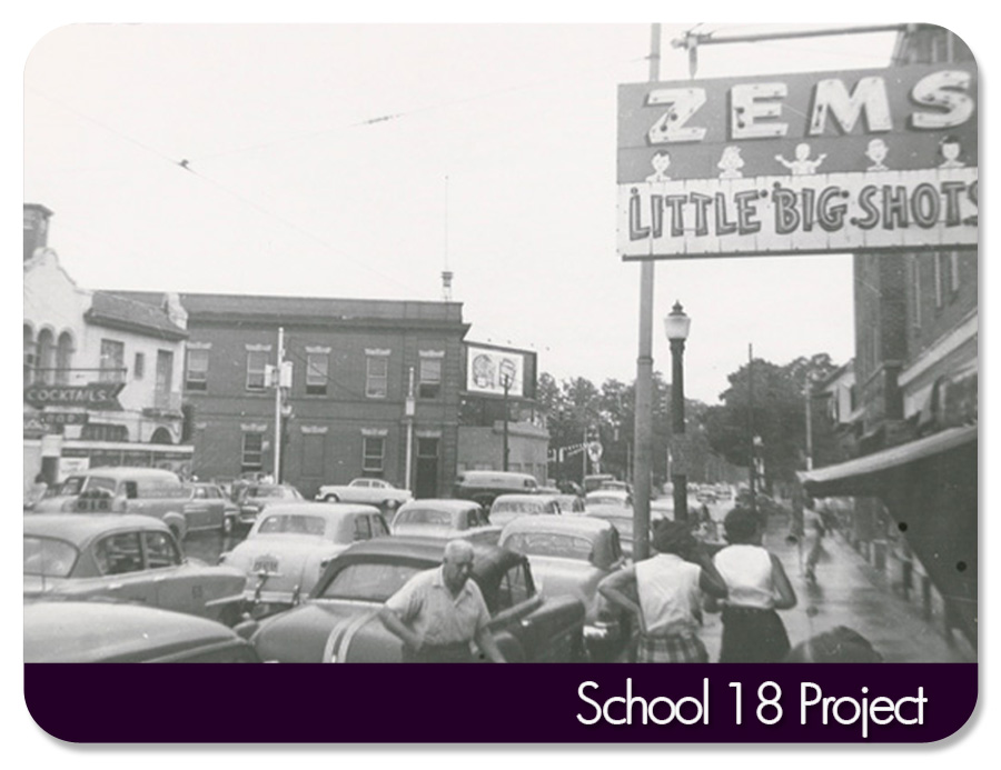 CIRCA 1945-50-Zems may have been a children's clothing store/shoe store