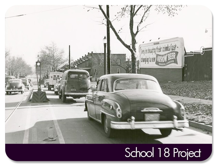 Gwynns Falls Parkway - going towards Mondawmin...circa approx 1940s