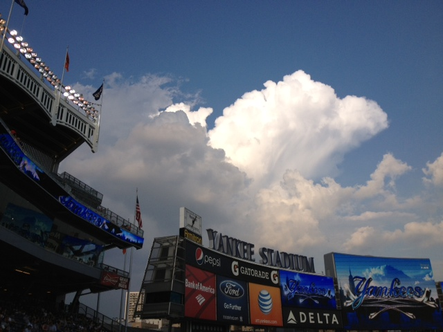 Clouds over Gotham
