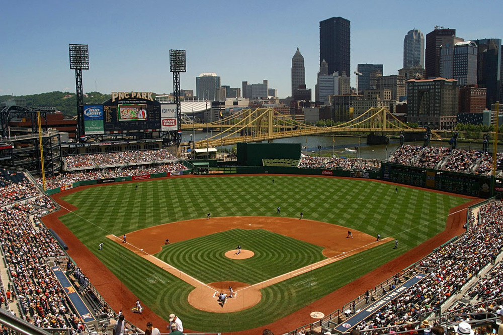 PNC Park, where the St. Louis Cardinals will open the 2016 MLB season against the Pittsburgh Pirates.