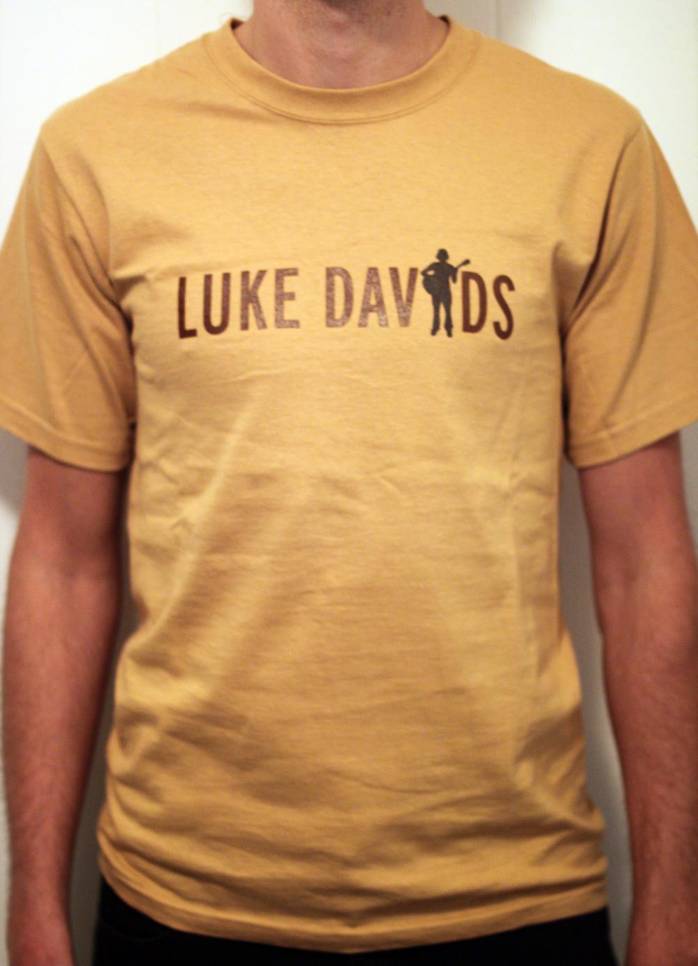 Luke Davids Tee Shirt Yellow