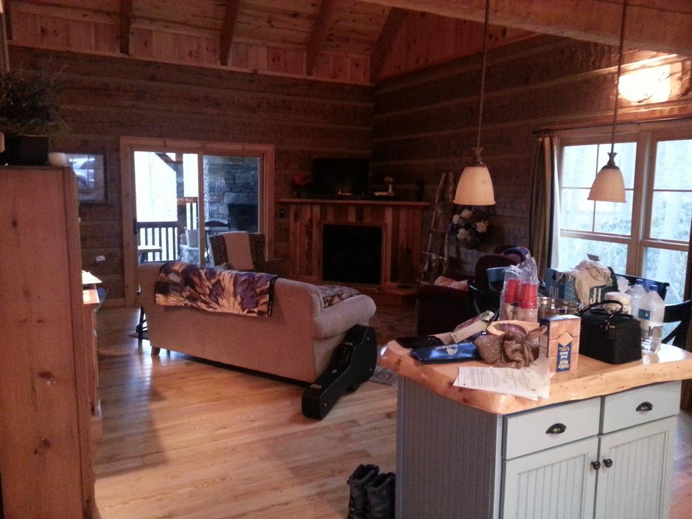 Cabin in Boone, NC.