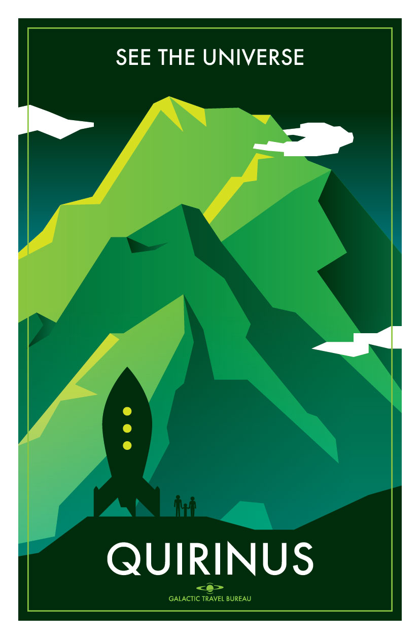 See the Universe; | Travel Poster