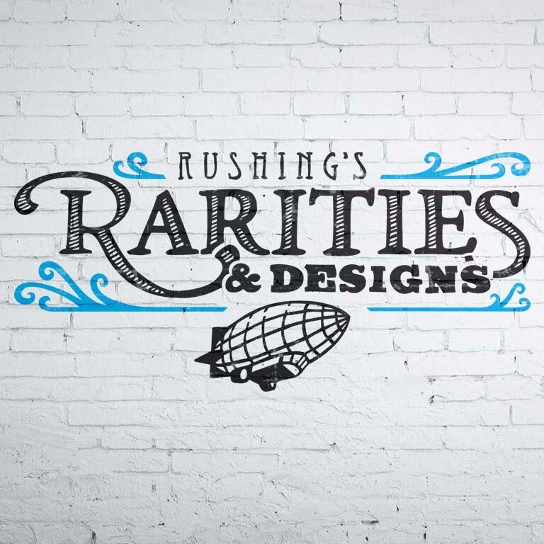 Rushing's Rarities Final Logo