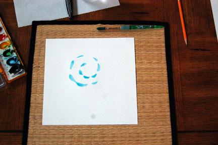 Paper Weaving circle