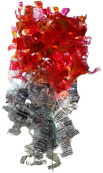 Dale Chihuly Style Plastic Water Bottle Chandelier Artsmudge