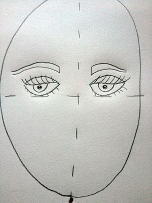 Artsmudge self portrait for kids