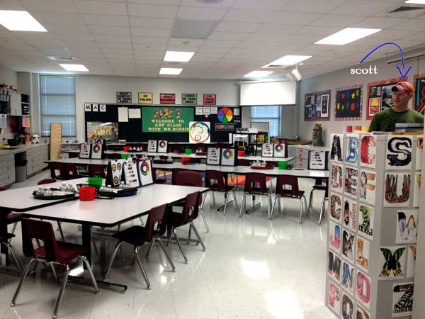 High School Art Classroom Design ~ Planning elementary art spaces — artsmudge