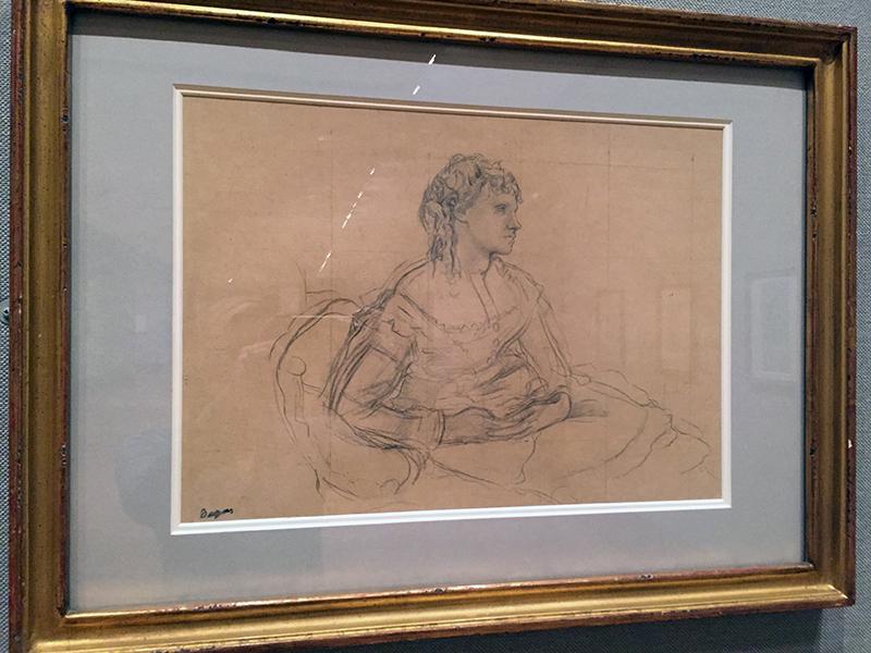 "study for ""Mme Theodore Gobillard"", 1869"