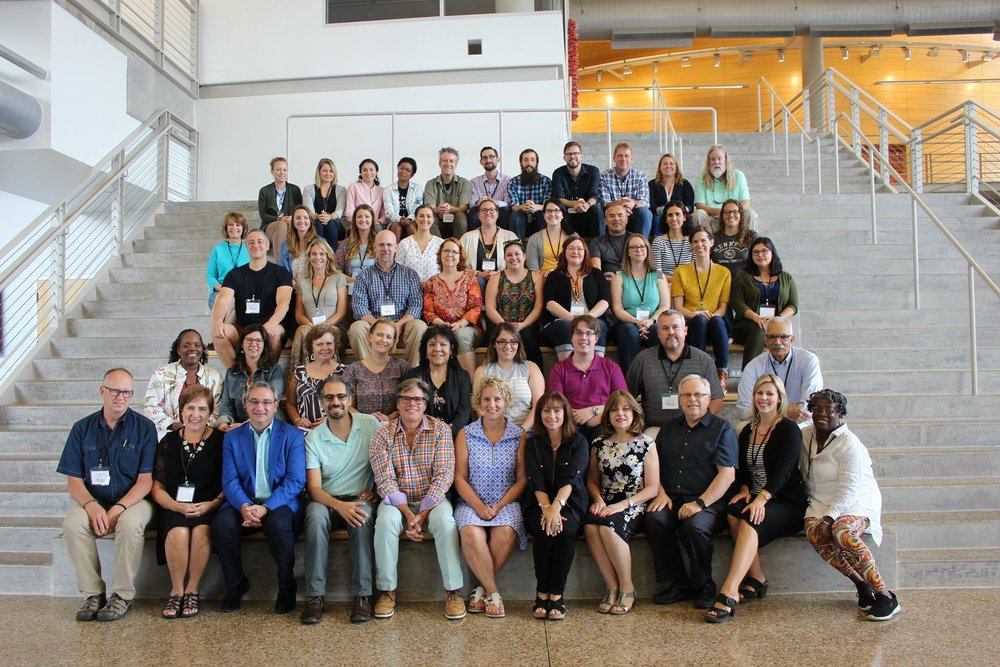 NAEA SummerStudio: Design Thinking for Social Equity 2017 Group Photo, University of Texas, Dallas.